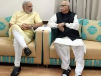 News video: Narendra Modi meets Advani