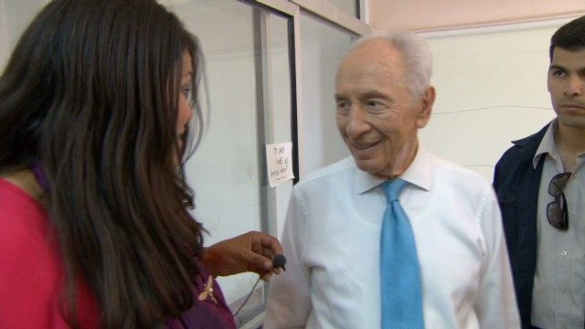 News video: Keeping pace with Shimon Peres