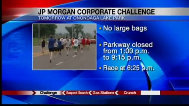 News video: Security tighter at JP Morgan Corporate Challenge 6-17-13